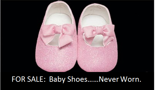 Selling Baby Shoes Never Worn