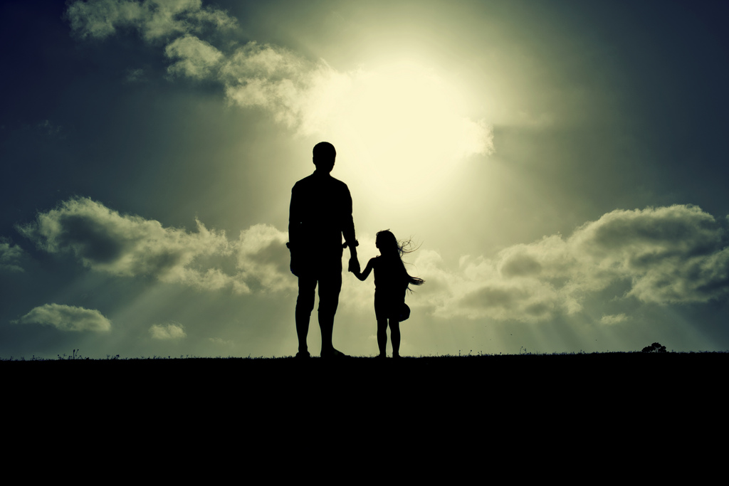 Image result for dad talking to daughter